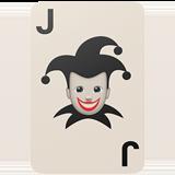 Игральные карты черный Джокер