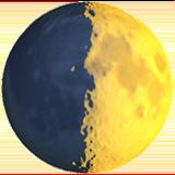 луна в первой четверти