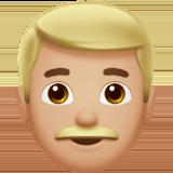 мужчина (светло-коричневый тон)