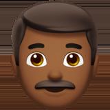 мужчина (темно-коричневый тон)