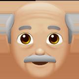 дедушка (светло-коричневый тон)