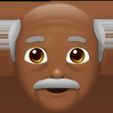 дедушка (темно-коричневый тон)