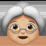бабушка (светло-коричневый тон)