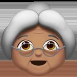 бабушка (оливковый тон)