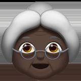 бабушка (черный тон)