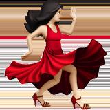 танцующая женщина (светлый тон)