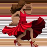 танцующая женщина (оливковый тон)