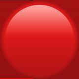 Красный большой круг