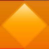 большой оранжевый ромб