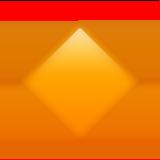 Маленький оранжевый ромб