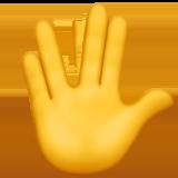 Рука с соединёнными пальцами