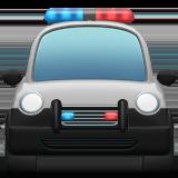 Приближающаяся полицейская машина