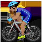 велосипедист (оливковый тон)