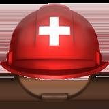 шлем с белым крестом