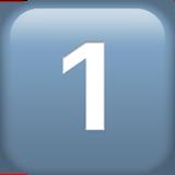 кнопка «один»