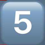 кнопка «пять»