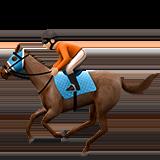 конные скачки (светло-коричневый тон)