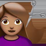 парикмахер (оливковый тон)