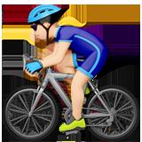 велосипедист (светлый тон)