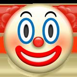 клоунское лицо